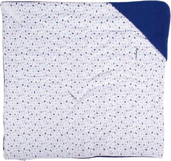 Zimní zavinovaèka modrá-lístky - zvìtšit obrázek