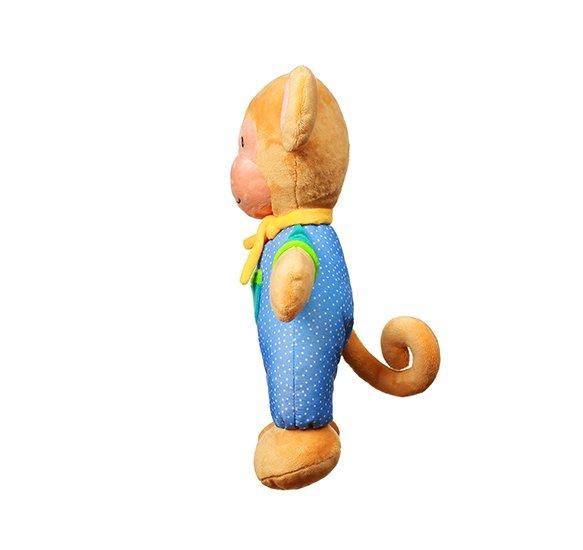 Plyšová hraèka s chrastítkem opièka Eric - zvìtšit obrázek