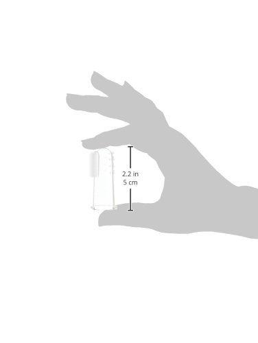 Kartáèek na èištìní zubù pro kojence na prst silikonový v krabièce - zvìtšit obrázek