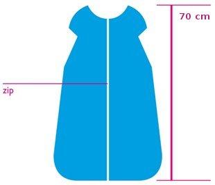 Dìtský spací pytel smetanový 70 cm - zvìtšit obrázek