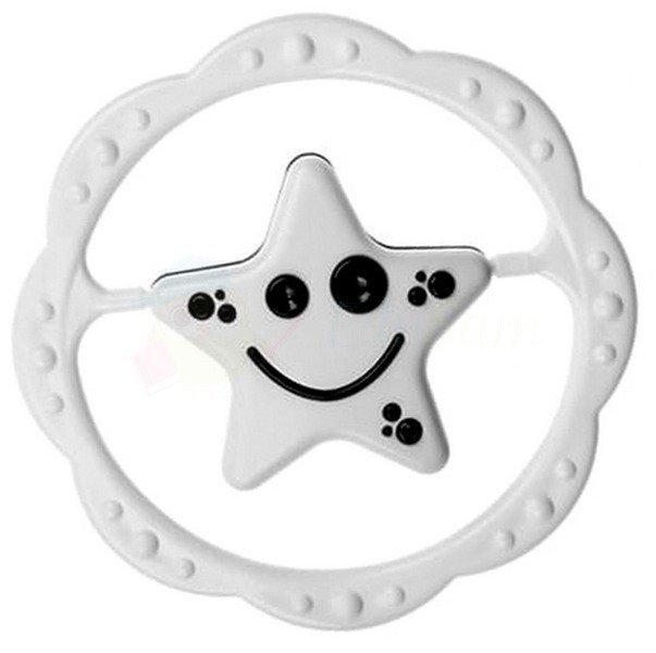 Chrastítko hvìzda 156 èerno - bílé - zvìtšit obrázek