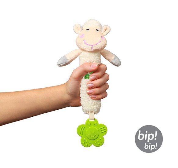 Plyšová hraèka s pískátkem a kousátkem Sweet Lambie - zvìtšit obrázek