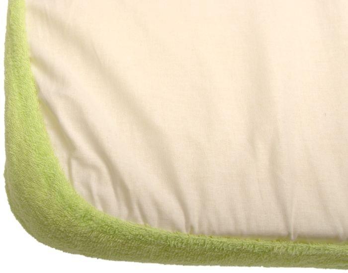 Nepropustné prostìradlo 80x160cm zelené froté bavlna - zvìtšit obrázek