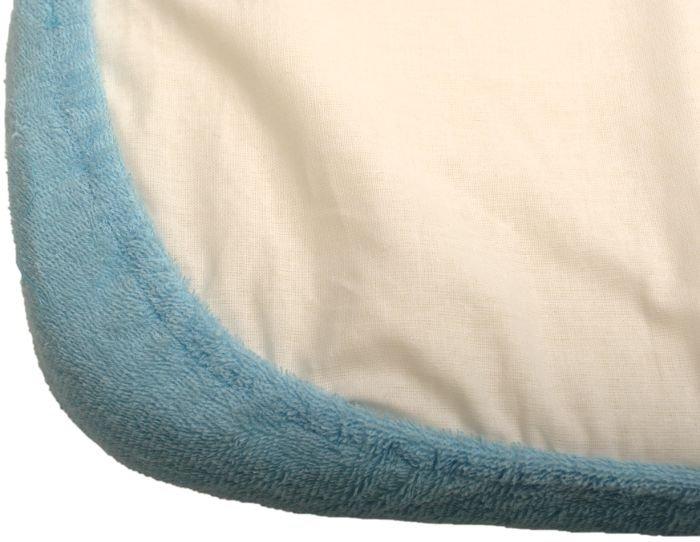 Nepropustné prostìradlo 80x160cm modré froté bavlna - zvìtšit obrázek