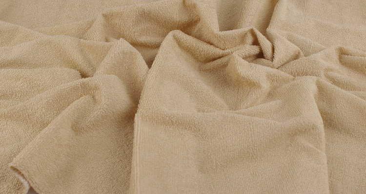 Nepropustné prostìradlo 80x160cm béžové froté bavlna - zvìtšit obrázek