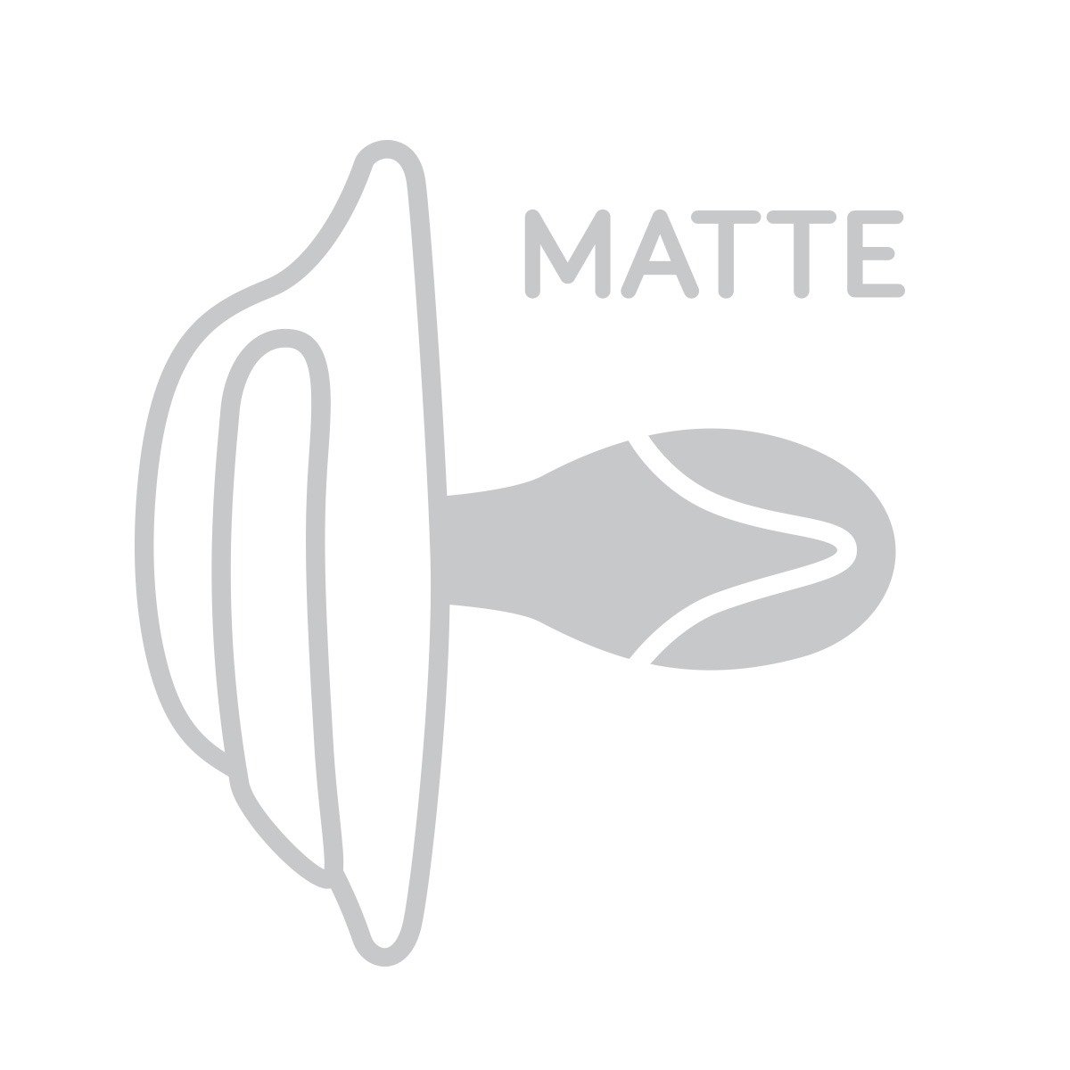 Dudlík symetrický silikonový 3-6m 2 ks - zvìtšit obrázek