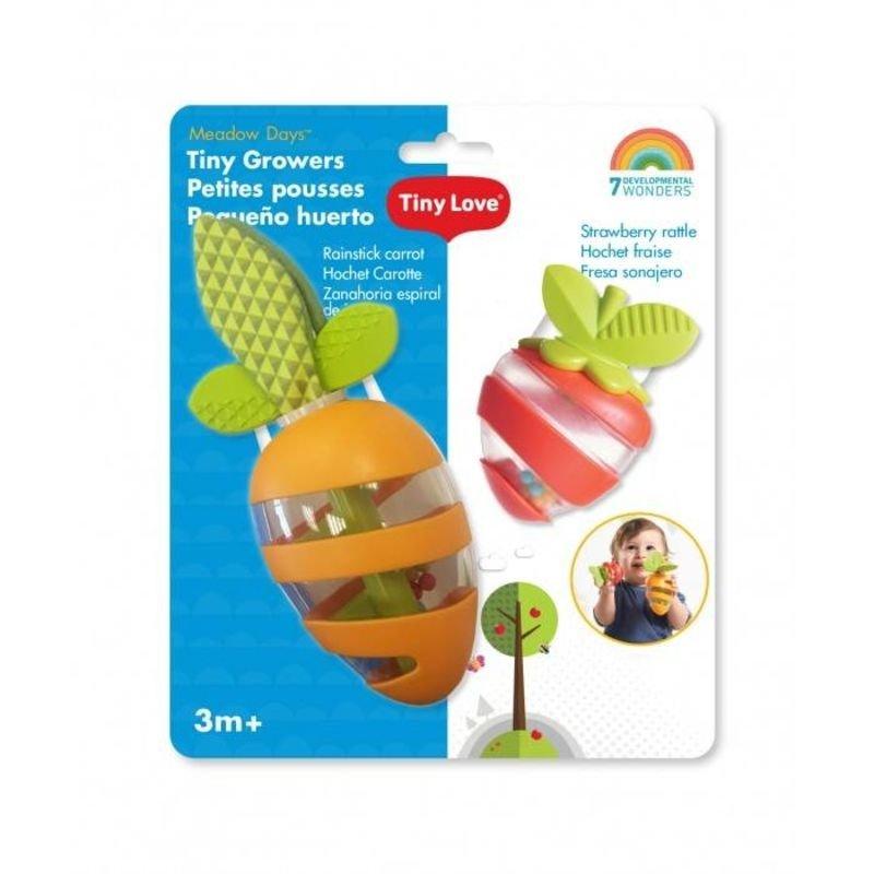 Sada chrastítek jahoda a mrkev - zvìtšit obrázek