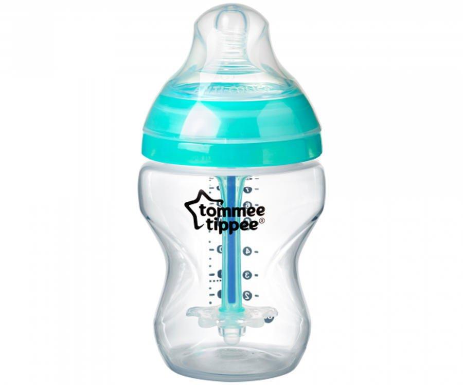 Kojenecká antikoliková láhev ADVANCED 260 ml kluk - zvìtšit obrázek