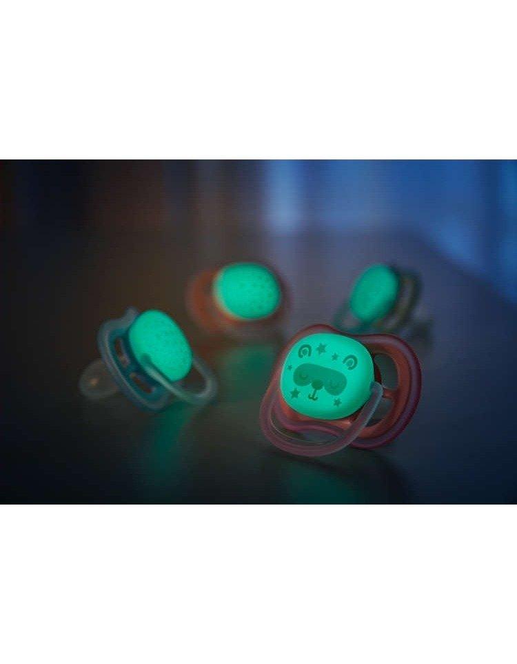 Dudlík ultra air noèní 6-18 m 2 ks - zvìtšit obrázek