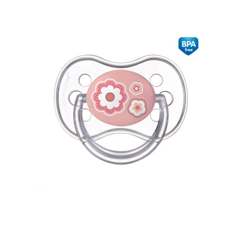 Dudlík NEWBORN BABY kulatý silikon 18+m - zvìtšit obrázek