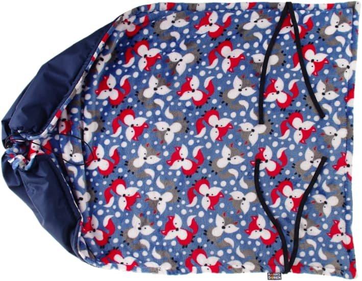 Modrá nepadací deka lišky - zvìtšit obrázek