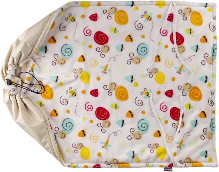 Béžová nepadací deka šneci - zvìtšit obrázek