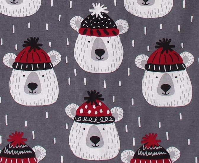 Zateplená dìtská deka vínová medvìdi - zvìtšit obrázek
