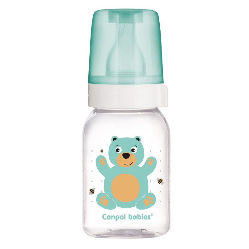 Lahev s potiskem CUTE ANIMALS 120 ml BPA 0% - zvìtšit obrázek