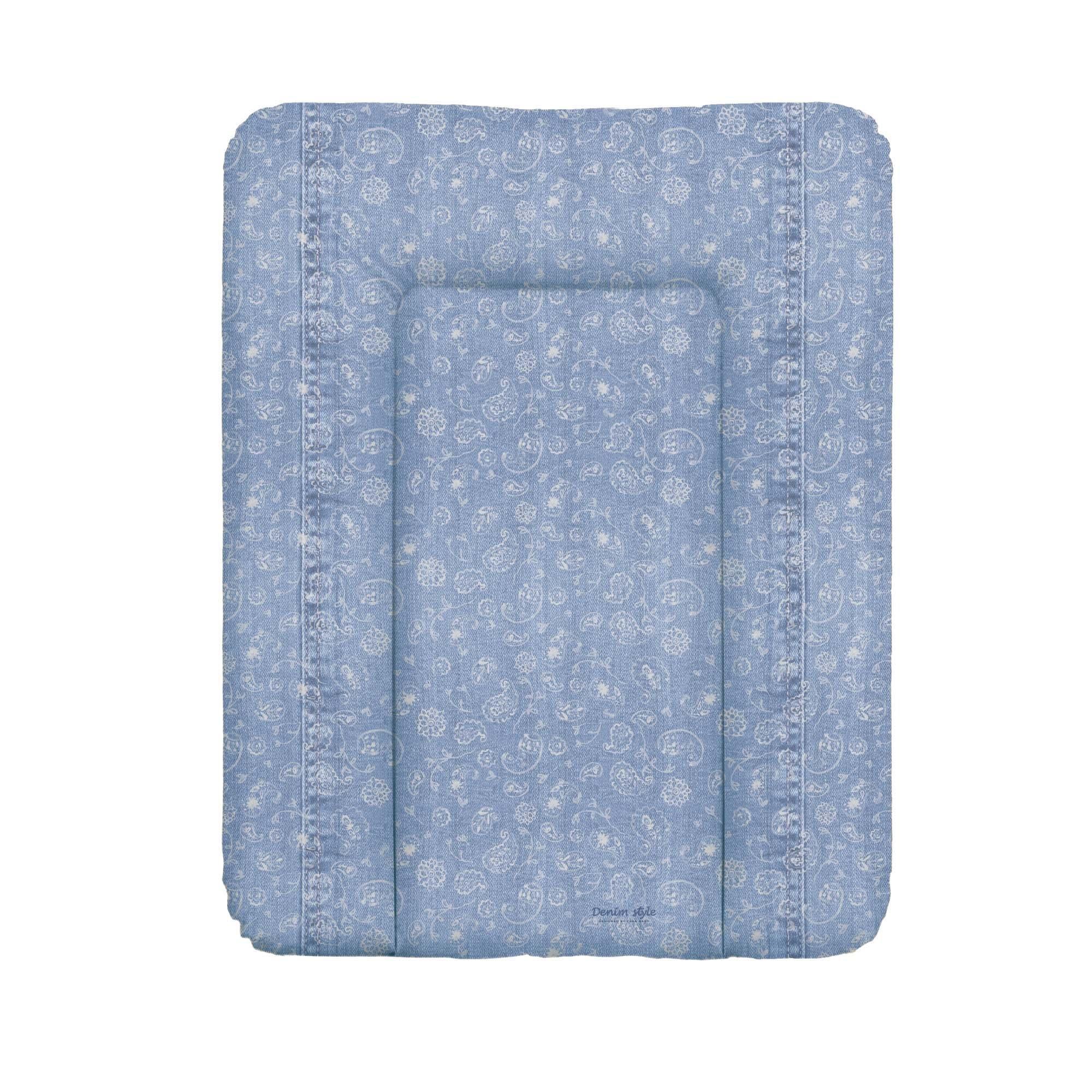 Pøebalovací podložka mìkká 50x70 cm DENIM STYLE modrá - zvìtšit obrázek