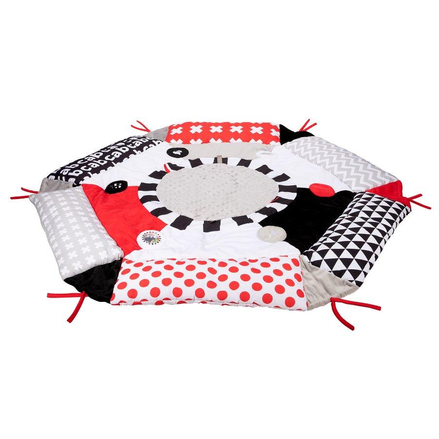Multifunkèní plyšová hrací deka SENSORY 3v1 - zvìtšit obrázek