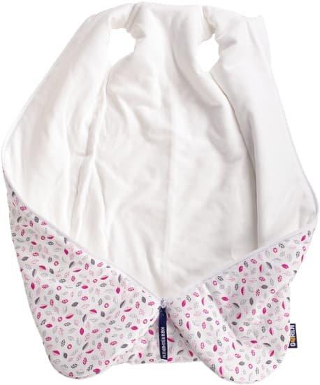 Novorozenecký spací pytel 60 cm vínové lístky - zvìtšit obrázek
