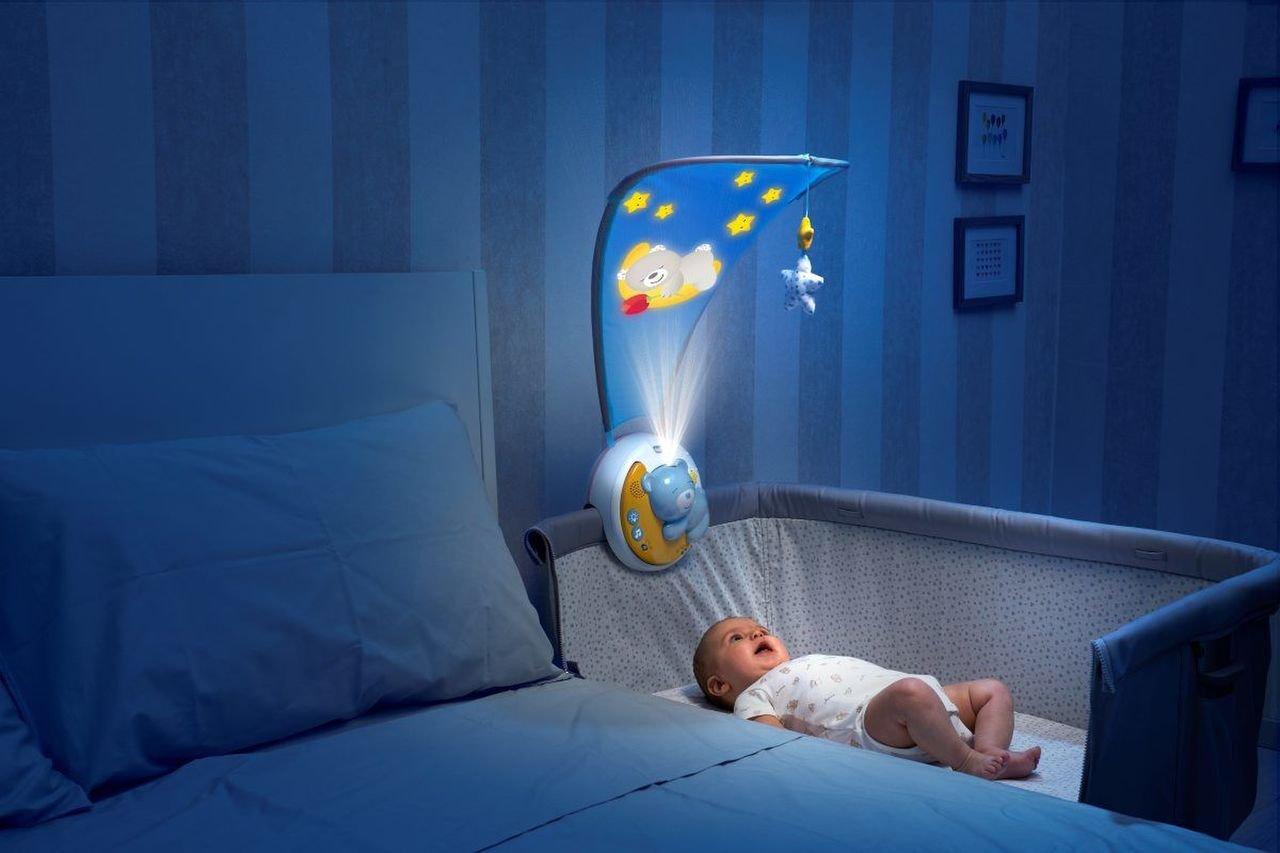 Projektor s baldachýmem Next 2 Moon modrá - zvìtšit obrázek