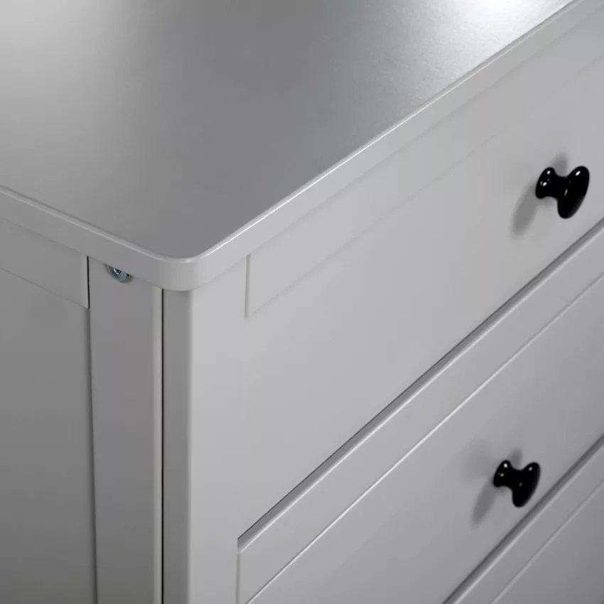 Komoda OLIVER s pøebalovacím pultem šedá - zvìtšit obrázek