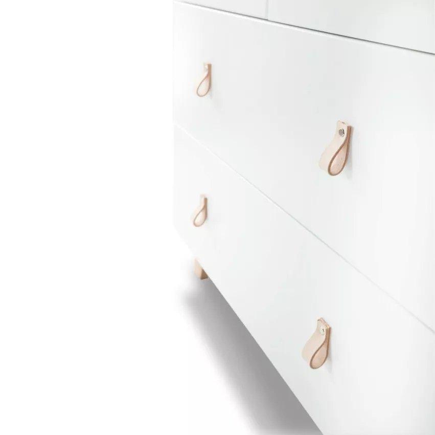 Komoda Noah s pøebalovacím pultem dub-bílá - zvìtšit obrázek