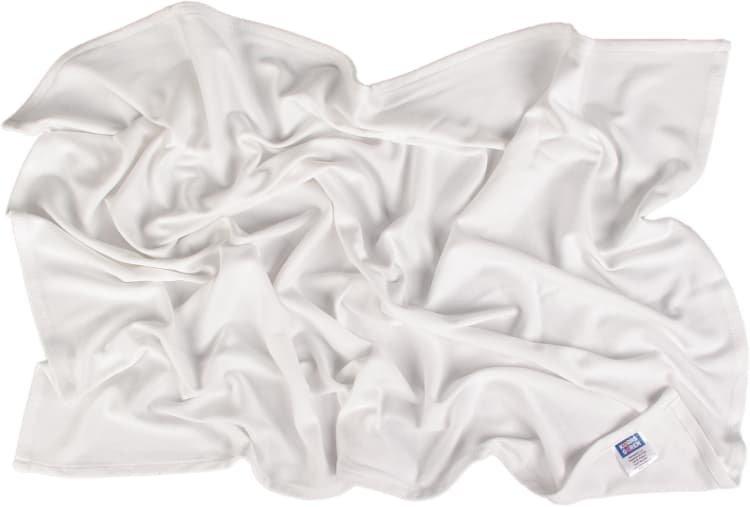 Letní deka 70x100cm z bio-bavlny bílá - zvìtšit obrázek