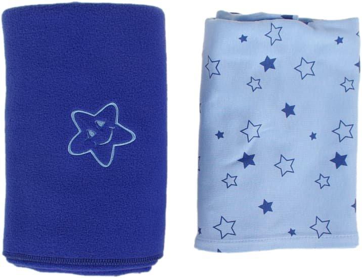 Sada dvou dek modrá hvìzdièky - zvìtšit obrázek
