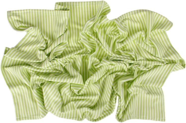 Letní deka 70x100cm zelené proužky - zvìtšit obrázek
