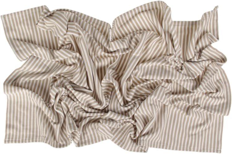 Letní deka 150x200cm béžové proužky - zvìtšit obrázek