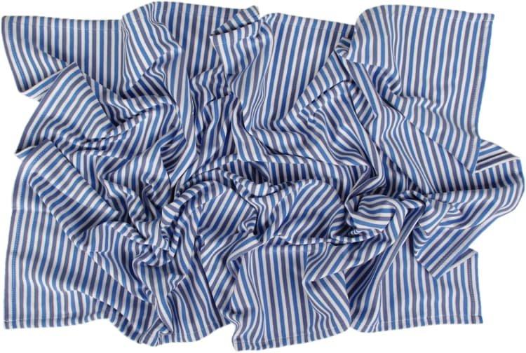 Letní deka 100x150cm modré proužky - zvìtšit obrázek