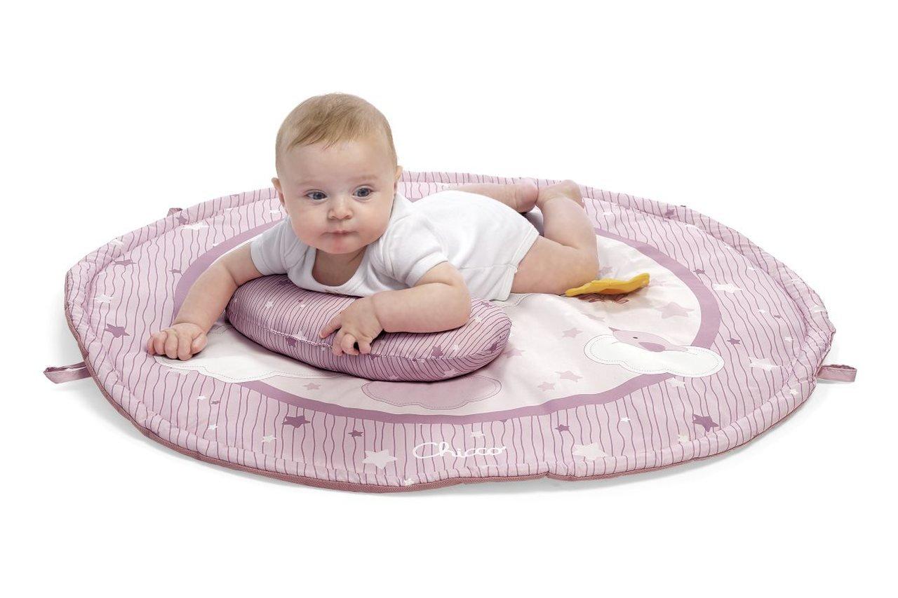 Hrací deka pro miminka 3v1 rùžová - zvìtšit obrázek