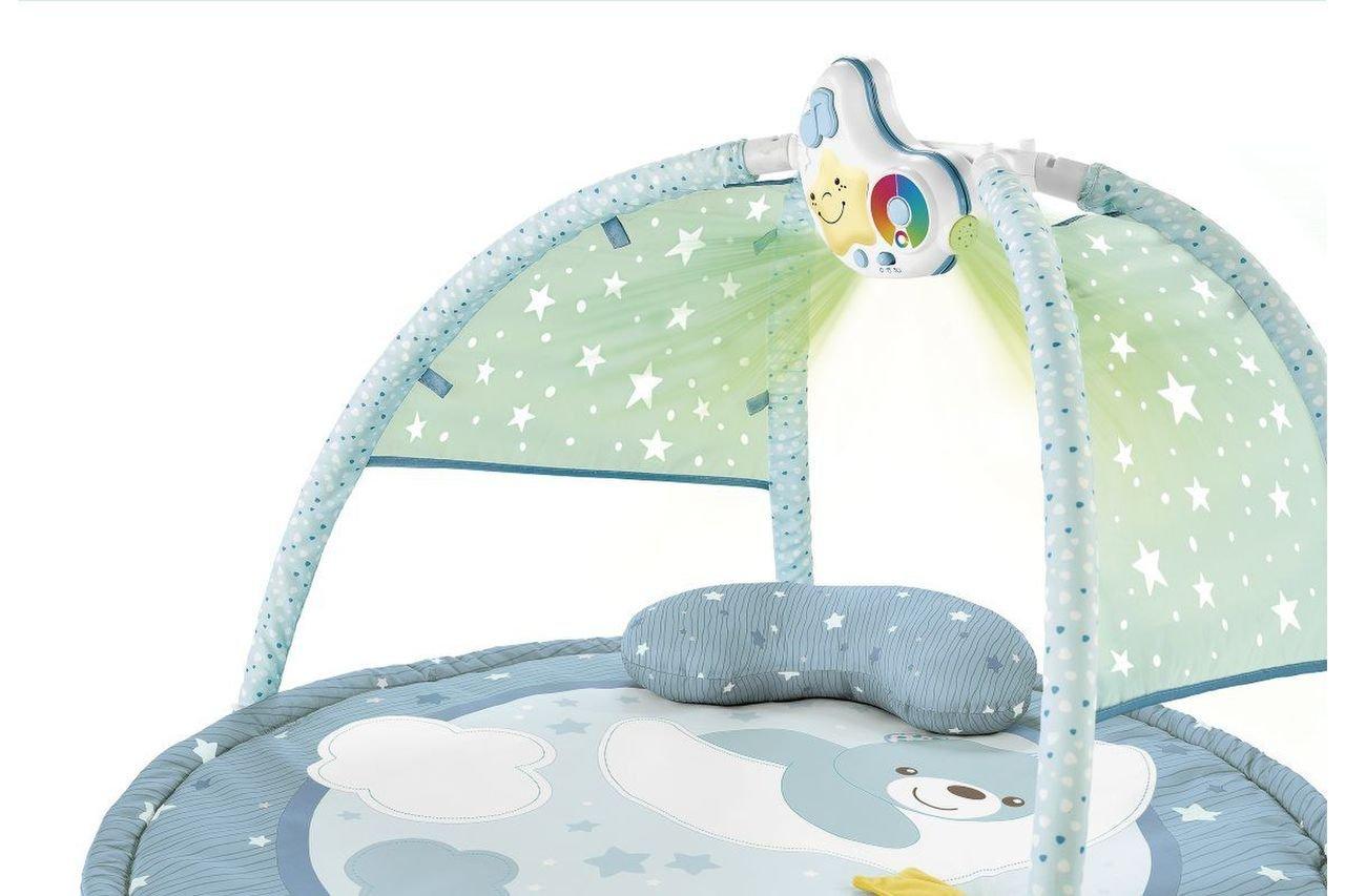 Hrací deka pro miminka 3v1 modrá - zvìtšit obrázek