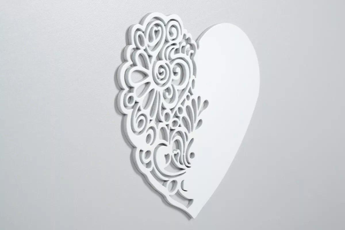 Dìtská postýlka 120x60 cm Nel srdce bílá-popel - zvìtšit obrázek