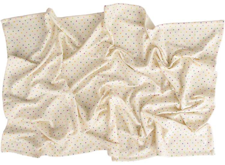 Letní deka 150x200cm z biobavlny barevné hvìzdièky - zvìtšit obrázek