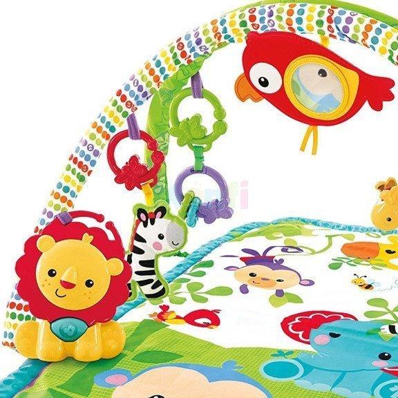 Dìtská hrací deka  3v1 džungle - zvìtšit obrázek