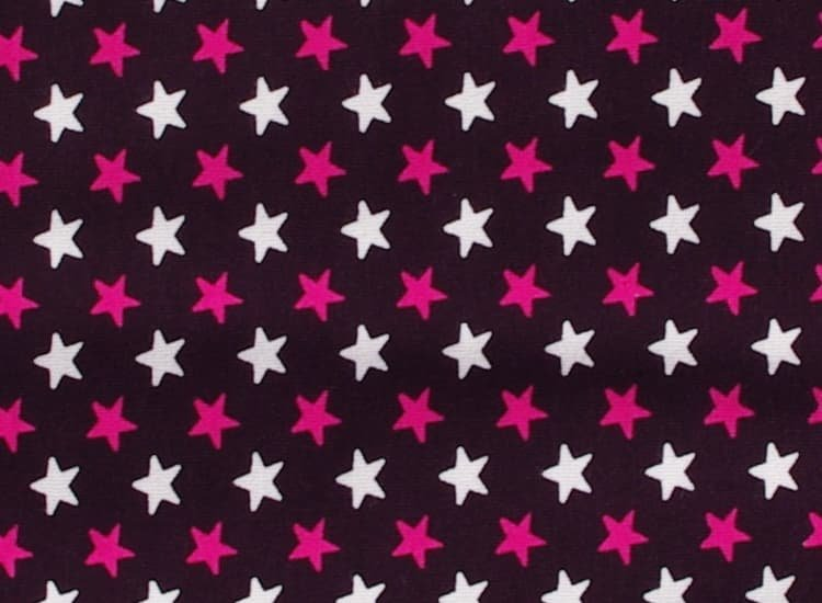 Spací pytel s nožièkami 70 cm hvìzdièky na fialové - zvìtšit obrázek
