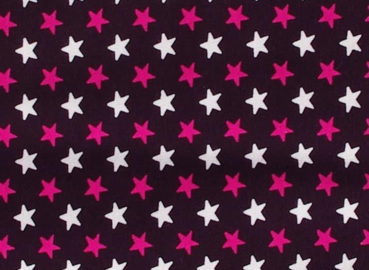 Spací pytel s nožièkami 110 cm hvìzdièky na fialové - zvìtšit obrázek