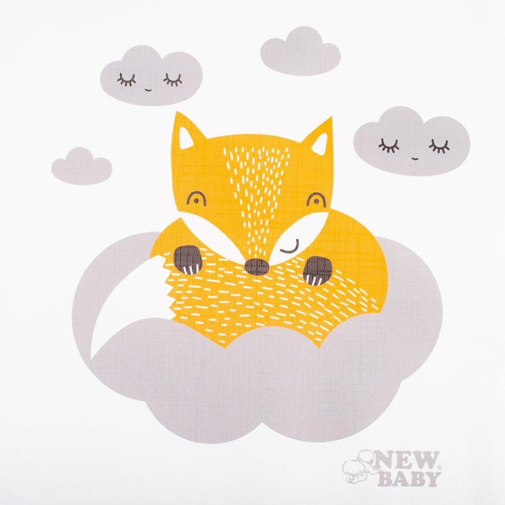 Pøebalovací podložka New Baby Liška bílá 70x50 cm - zvìtšit obrázek
