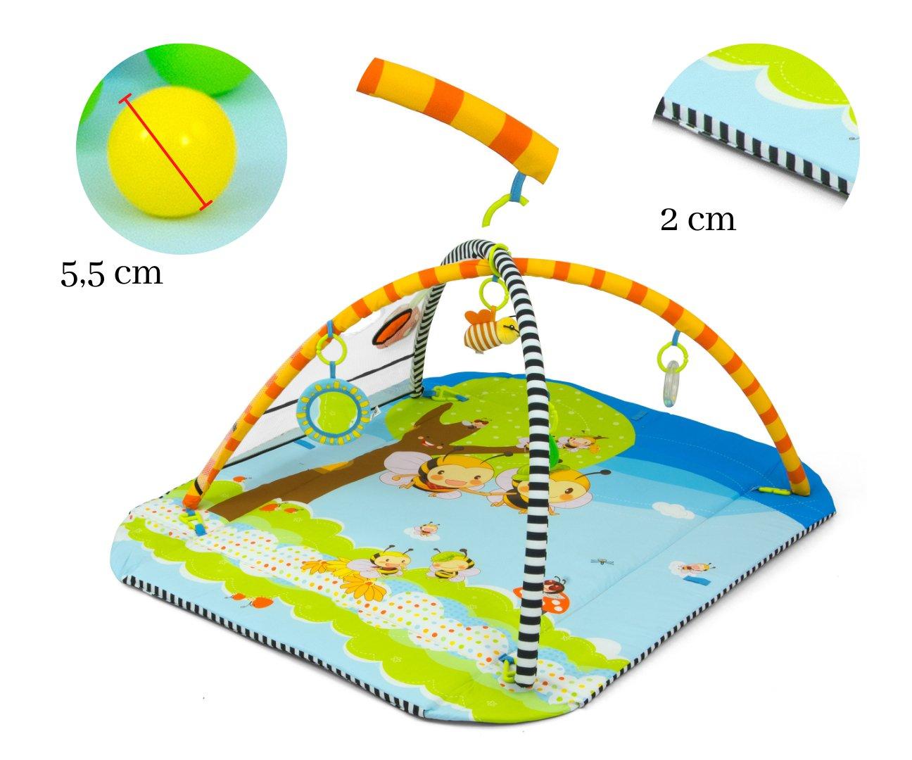 Hrací deka s ohrádkou 5v1 vèela - zvìtšit obrázek