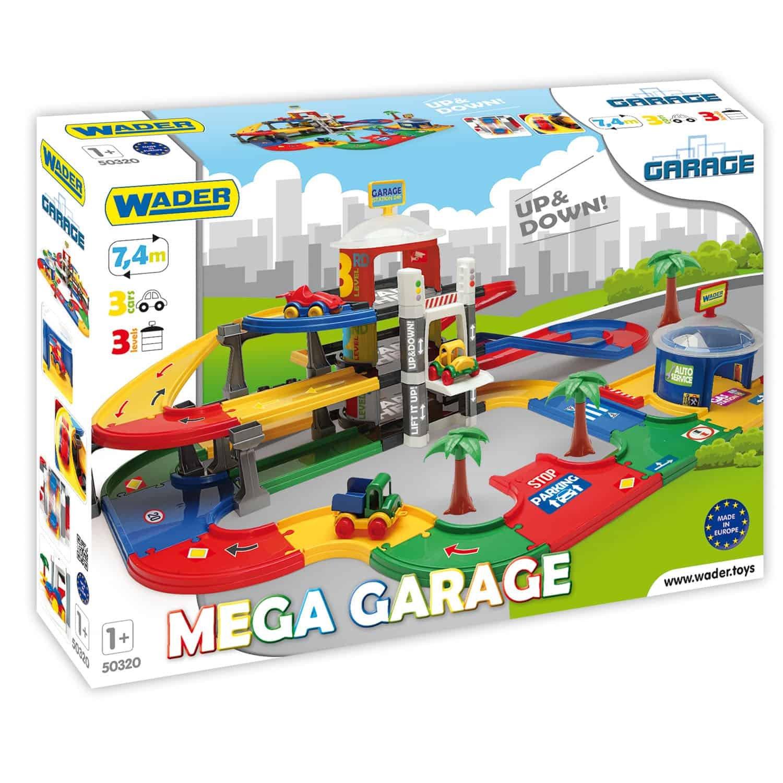 Mega garáž s výtahem 7.4 m - zvìtšit obrázek