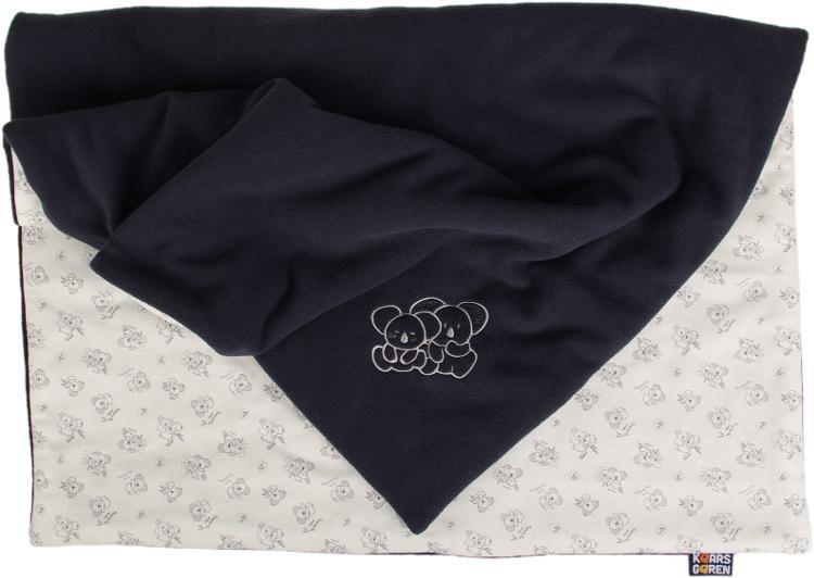 Zateplená dìtská deka koala 70x100 cm  šedá - zvìtšit obrázek