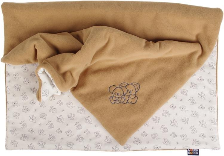 Zateplená dìtská deka koala 70x100 cm   béžová - zvìtšit obrázek